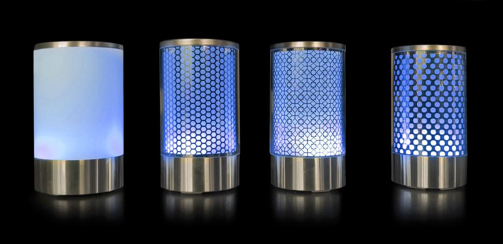Lampes Gamme CHIC-Bleu