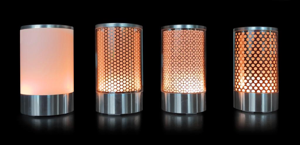 Lampes Gamme CHIC-Orange